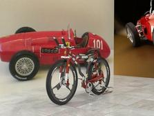 Bike Ferrari -design